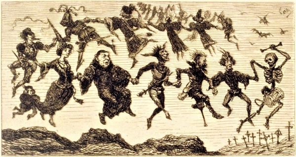éditions otrante,sylvain métafiot,le comptoir,fantastique,diableries,petit abécédaire du noir,danse macabre