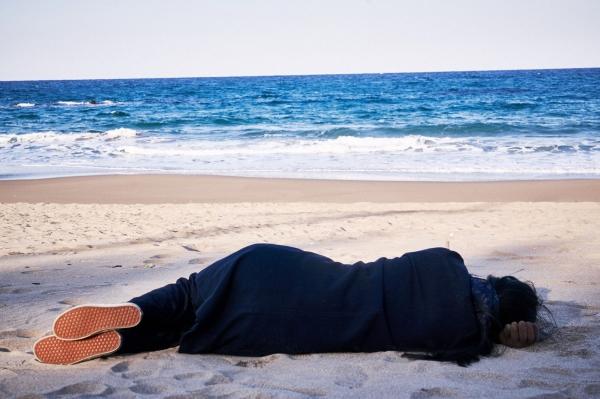 hong sang-soo,sylvain métafiot,seule sur la plage la nuit,fragments d'un exil amoureux, Raskar Kapac,