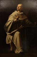 Saint Bernard écrivant par Philippe Quantin (XVIIe siècle).jpg
