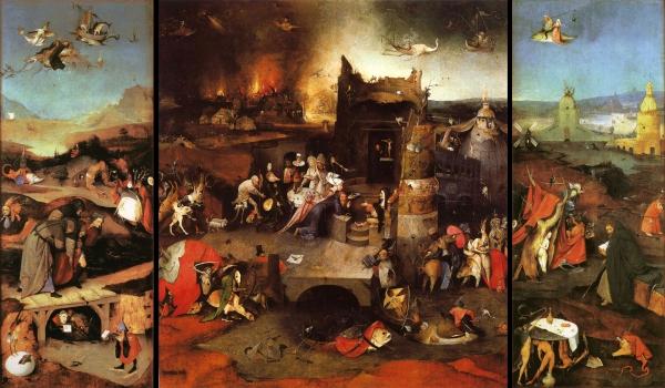 Jérôme Bosch, La tentation de Saint Antoine.jpg