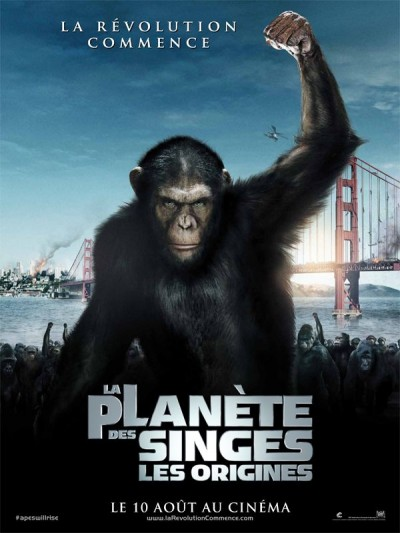 cinema, planète des singes, les origines, andy serkis