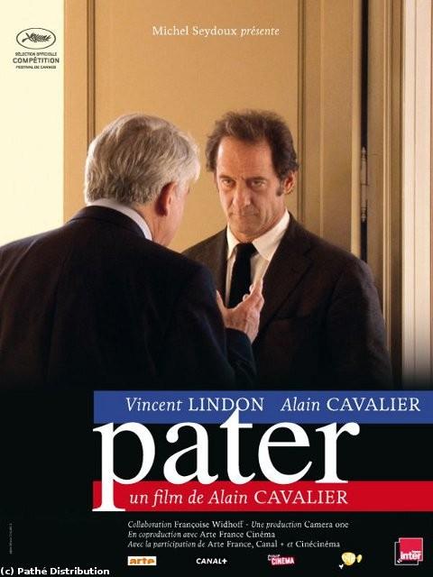 Pater, Alain Cavalier, Vincent Lindon, pouvoir, autofiction, documentaire, ironie,La Conquête, politique, Sylvain Métafiot,