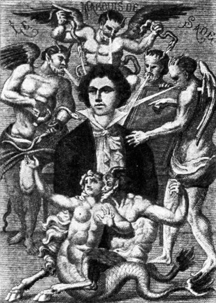 Sade, la chèvre et le p'tit n'enfant, sadisme,sylvain métafiot,